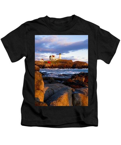 The Nubble Lighthouse Kids T-Shirt