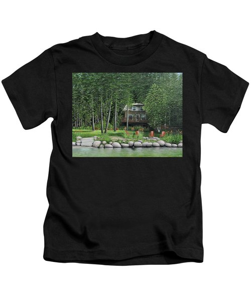 The Old Lawg Caybun On Lake Joe Kids T-Shirt