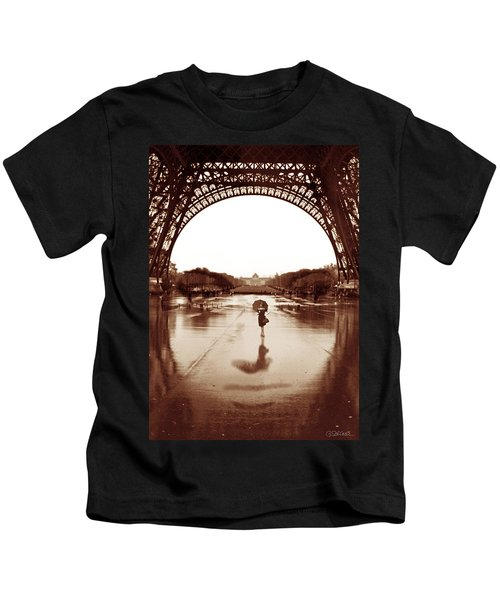 The Other Face Of Paris Kids T-Shirt