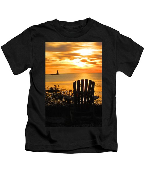 New Castle New Hampshire  Kids T-Shirt