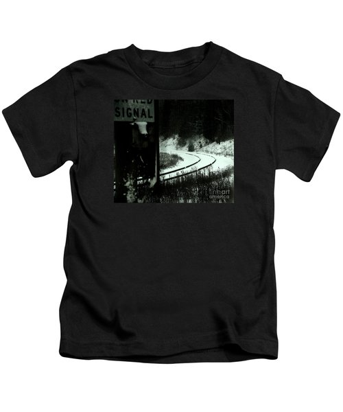 The Rail To Anywhere Kids T-Shirt