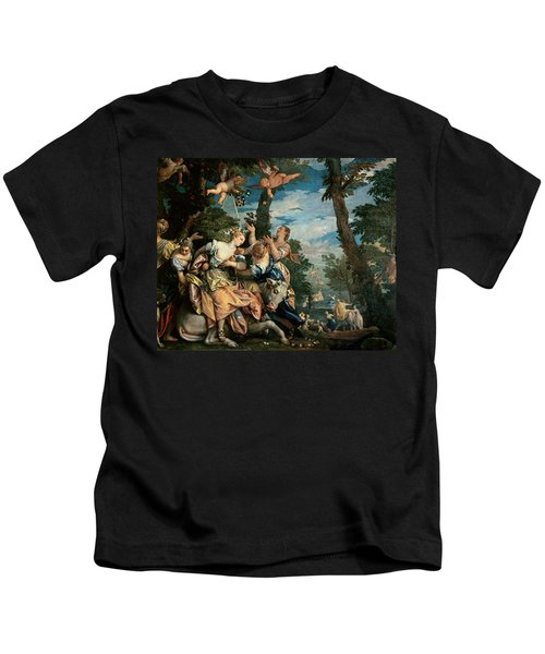 The Rape Of Europa Kids T-Shirt