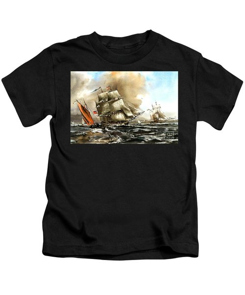 The Rose In Bantry Bay Kids T-Shirt