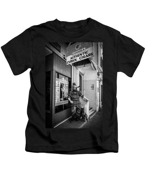 The Sidewalk Humidor  Kids T-Shirt