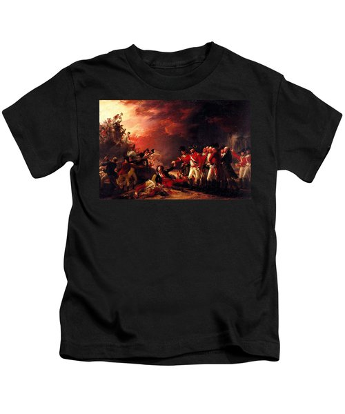 The Sortie From Gibraltar, 1788 Oil On Canvas Kids T-Shirt