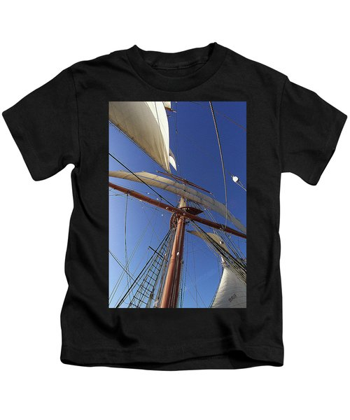 The Star Of India. Mast And Sails Kids T-Shirt