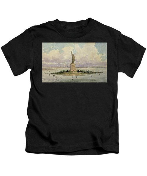 The Statue Of Liberty  Kids T-Shirt