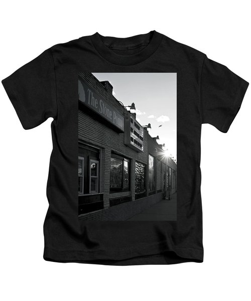 The Stone Pony Asbury Park Side View Kids T-Shirt