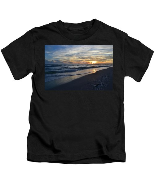 The Touch Of The Sea Kids T-Shirt