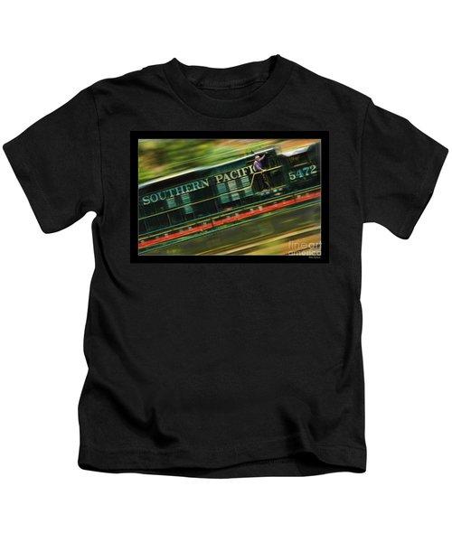 The Train Ride Kids T-Shirt