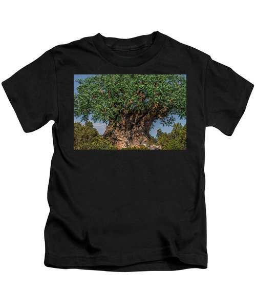 The Tree Of Life Close Up Kids T-Shirt
