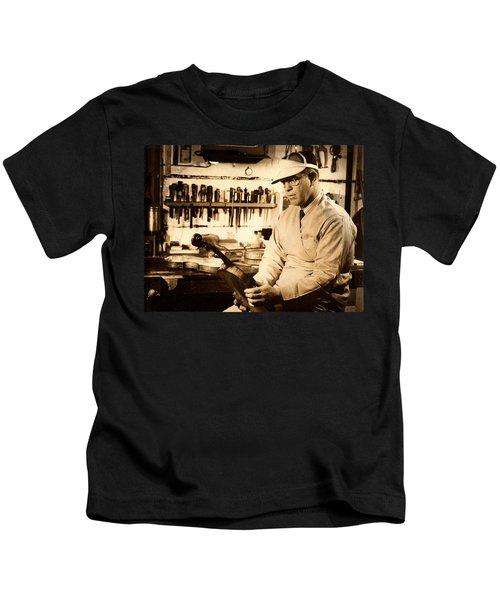 The Violin Maker Kids T-Shirt