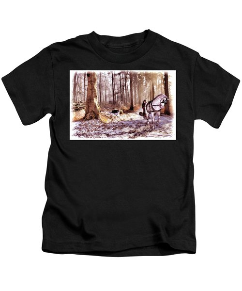 The Woodsman Kids T-Shirt