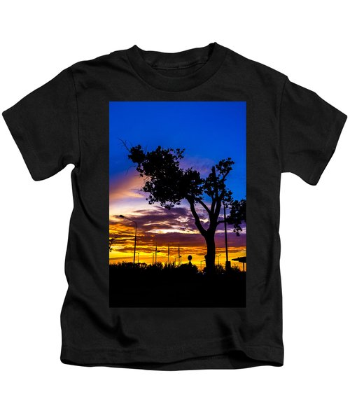 There Is Something Magical About The Sky Kids T-Shirt