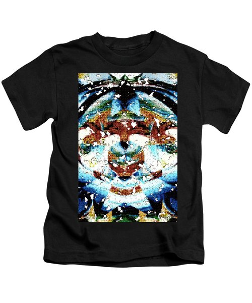 Those Darn Moths Mosaic Kids T-Shirt