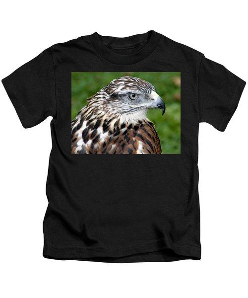 The Threat Of A Predator Hawk Kids T-Shirt