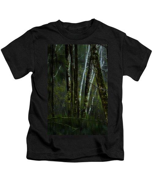 Through A Glass . . . Darkly Kids T-Shirt