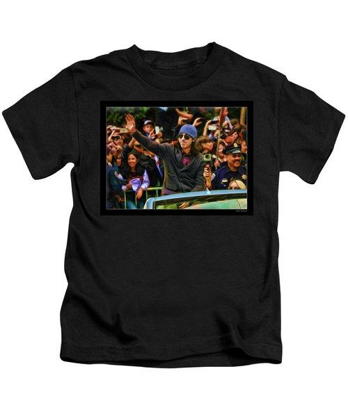 Tim Lincecum World Series 2012 Kids T-Shirt
