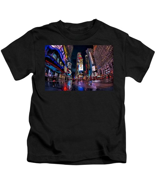 Times Square New York City The City That Never Sleeps Kids T-Shirt