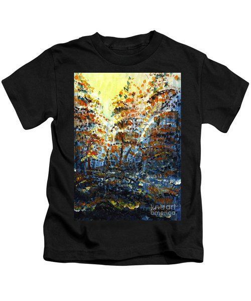 Tim's Autumn Trees Kids T-Shirt