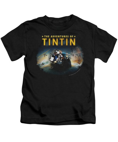Tintin - Journey Kids T-Shirt