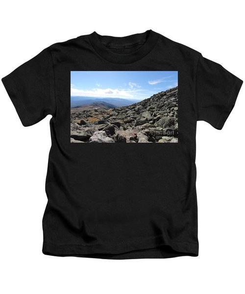 Top View Mt Washington Kids T-Shirt