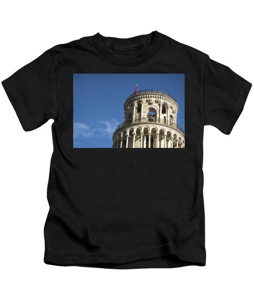 Top Of The Leaning Tower Of Pisa Kids T-Shirt