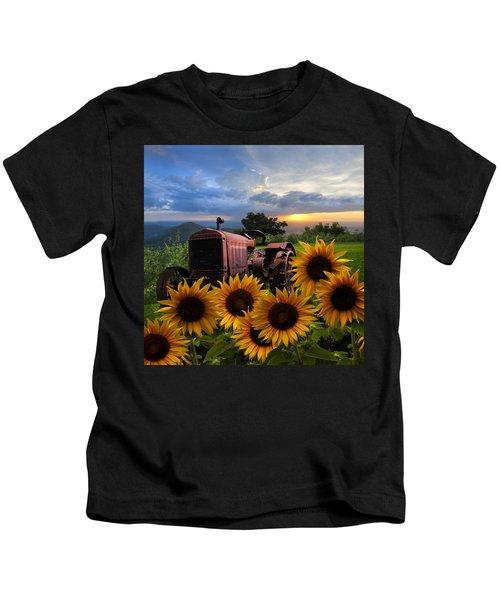 Tractor Heaven Kids T-Shirt