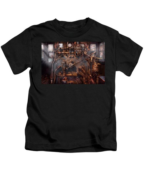 Train - Engine - Hot Under The Collar  Kids T-Shirt