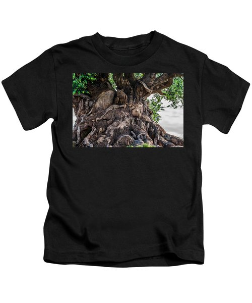 Tree Of Life Close Kids T-Shirt