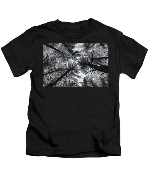 Trees In Winter Kids T-Shirt