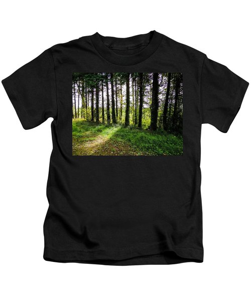Trees On The Shannon Estuary Kids T-Shirt