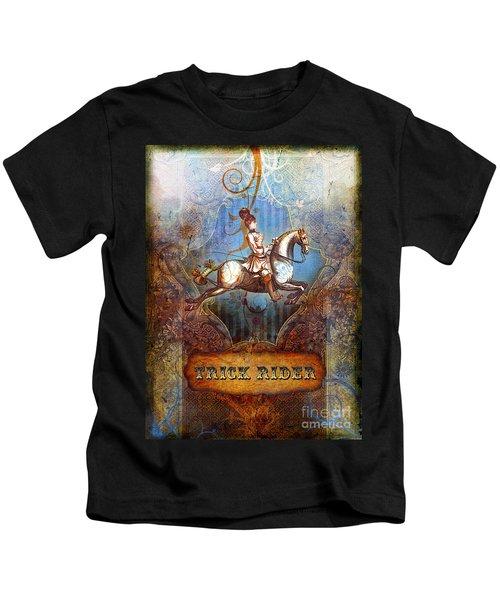 Trick Rider Kids T-Shirt