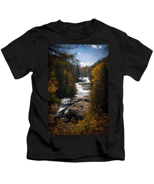 Triple Falls Kids T-Shirt