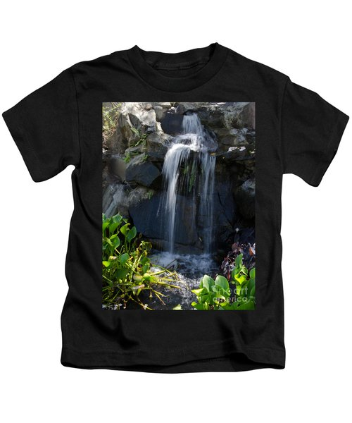 Tropical Waterfall  Kids T-Shirt