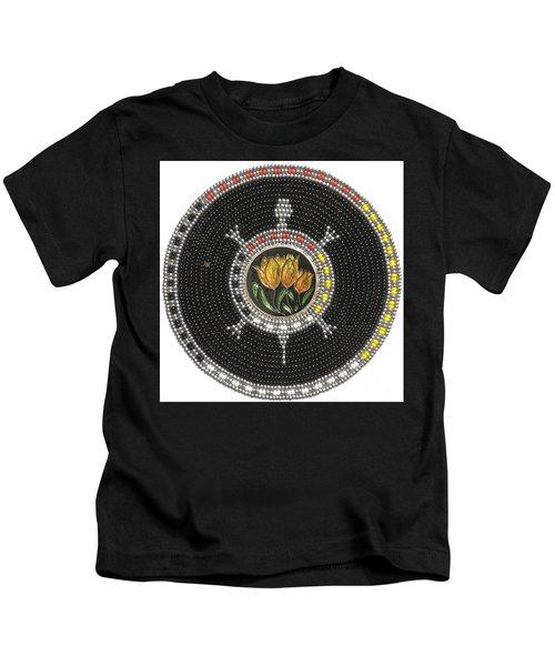 Tulip Turtle Kids T-Shirt