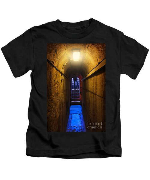 Tunnel Exit Kids T-Shirt