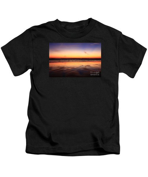 Cardiff By The Sea Glow Kids T-Shirt