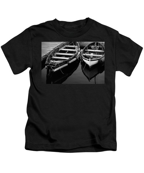 Two At Dock Kids T-Shirt