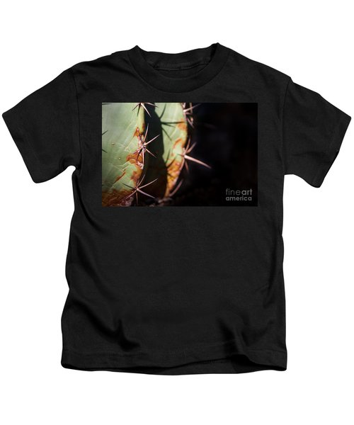 Two Shades Of Cactus Kids T-Shirt