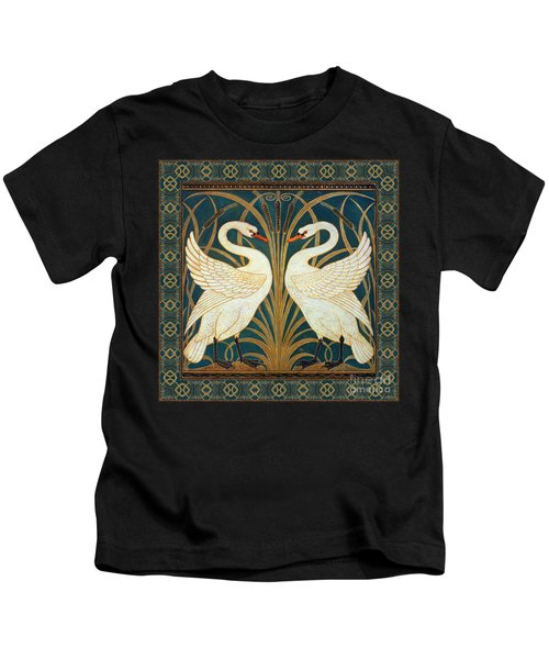 Two Swans Kids T-Shirt