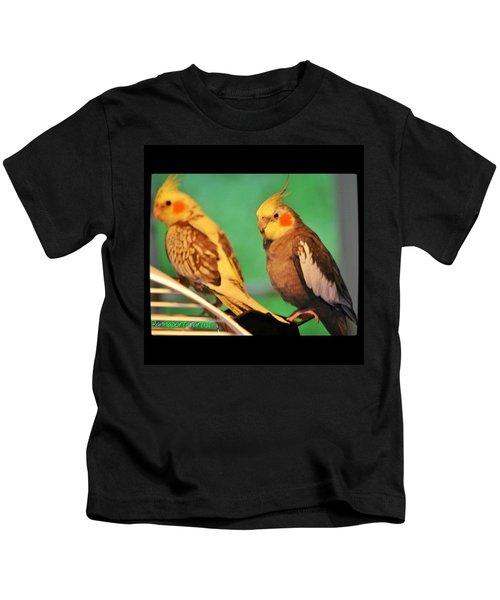 Two Tiels Chillin Kids T-Shirt