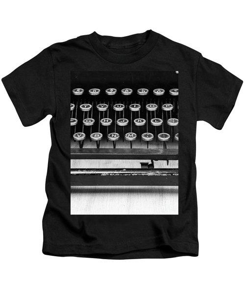 Typewriter Triptych Part 2 Kids T-Shirt