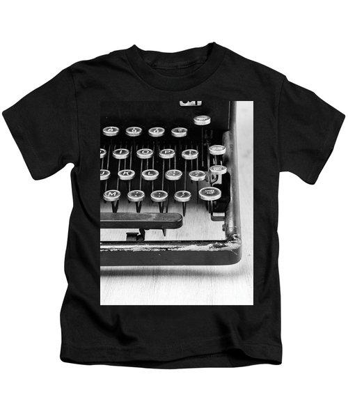 Typewriter Triptych Part 3 Kids T-Shirt