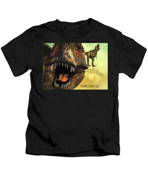 Tyrannosaurus Rex 4 Kids T-Shirt