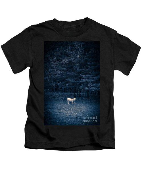Udder The Moo Night Kids T-Shirt