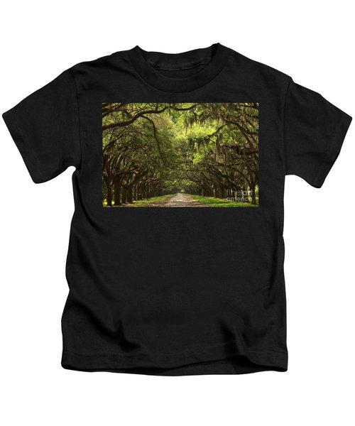 Under The Ancient Oaks Kids T-Shirt