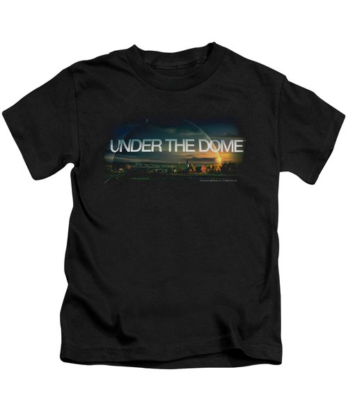 Under The Dome - Dome Key Art Kids T-Shirt