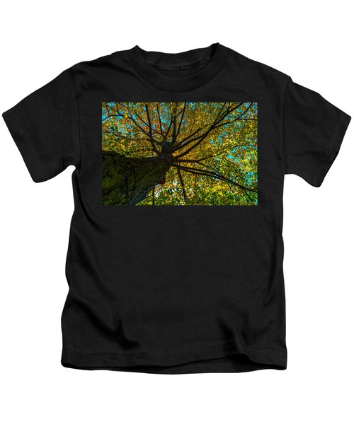 Under The Tree S Skirt Kids T-Shirt