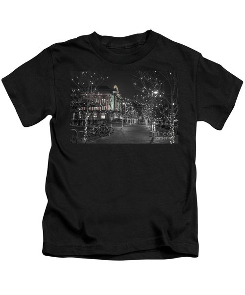 Union Station In The Winter Kids T-Shirt
